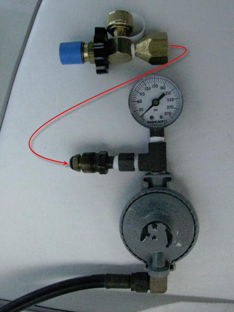 propane connector